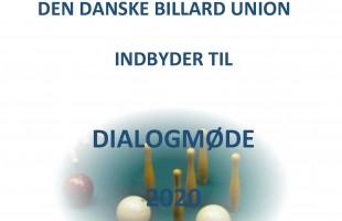 DIALOGMØDE DDBU 2020