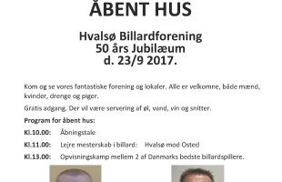 Hvalsø plakat